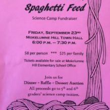 Science Camp Fundraiser