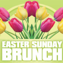Easter Brunch Buffet at the Hotel Leger