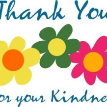 Friends of the Library Thank You