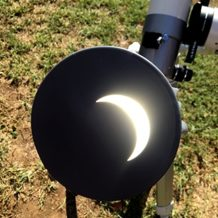 Solar Eclipse in Mokelumne Hill