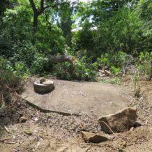 Historic Cistern found on Lafayette Street