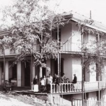 Historic Hotel Leger in 1896