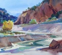 """""""Back to the Future"""" Watercolor Workshop"""