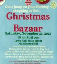 Christmas Bazaar Nov 23