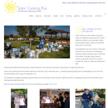 The Solar Cooking Site is up!