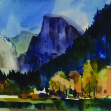 Paint Clouds in Watercolor with Dale Laitinen at Petroglyphe on March 28