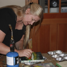 Suzanne Bell's Encaustic Workshops at Petroglyphe on March 14 and 15