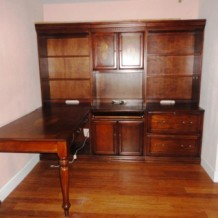 Desk and Credenza For Sale