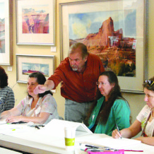 Dale Laitinen Watercolor Workshop Nov. 13-15