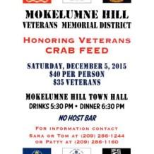 Honoring Veterans Crab Feed