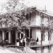 Historic Hotel Leger in 1896