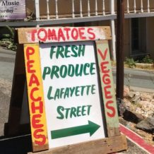 Carl's Vegetable Stand is Open
