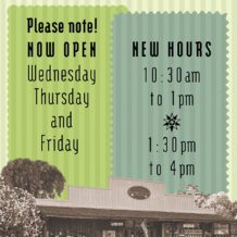 Moke Hill Library New Hours